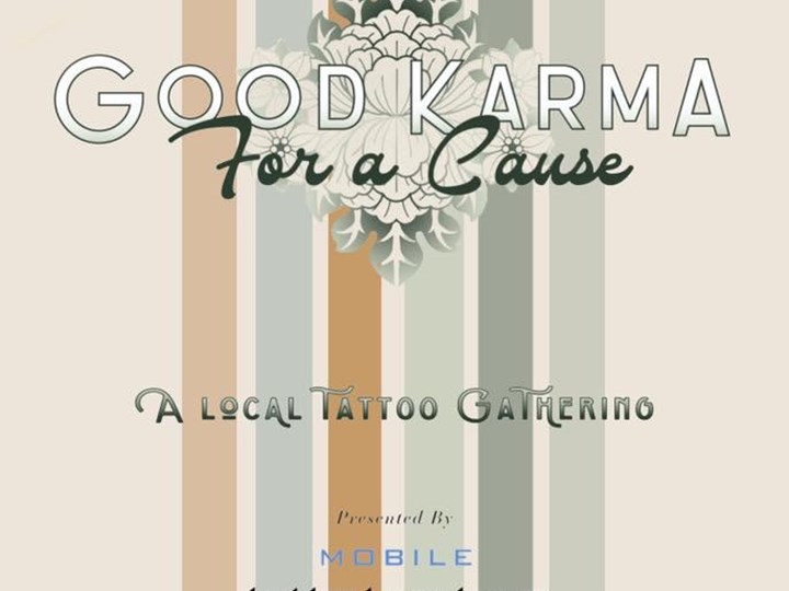Good Karma For A Cause Tattoo Event