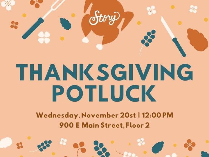 Story Thanksgiving Potluck